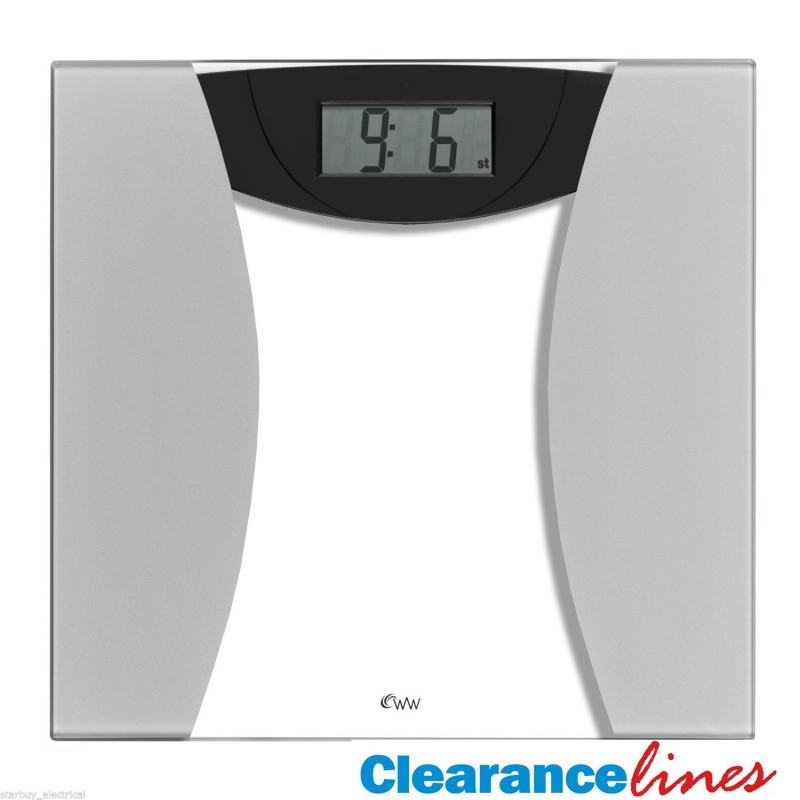 Weightwatchers 8949U Ultra Slim Glass Precision Bathroom Weighing Scales