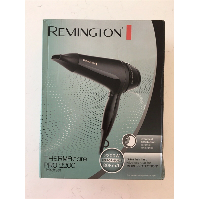 Remington Hair Dryer Pro 2200 Thermacare D5710 - Black