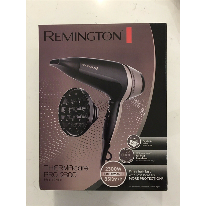 Remington Hair Dryer 2300W Thermacare Pro Ceramic Ionic Salon Styling D5715