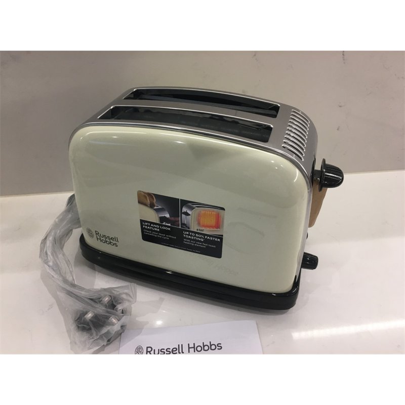 Russell Hobbs Colour Plus 2-Slice Toaster  Cream 23334