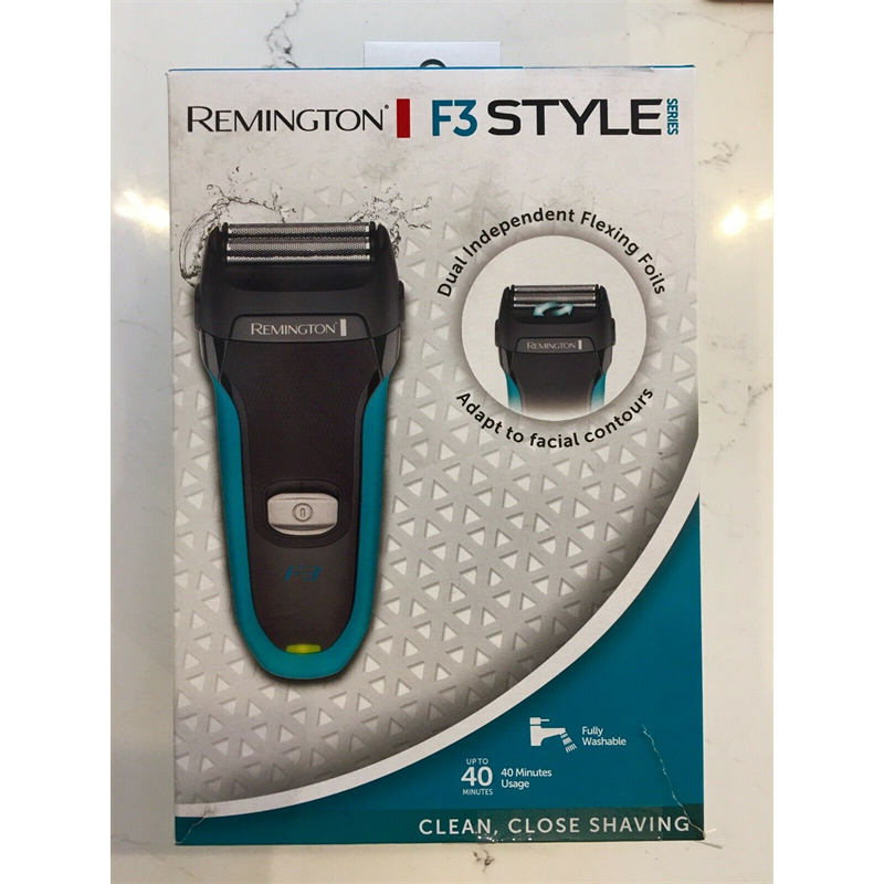 Remington F3000 Style Series F3 Men's Electric Shaver - Grey/Blue