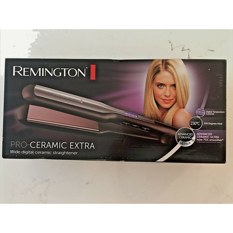 Remington S5525 Pro-Ceramic Extra Hair Straightener - Black