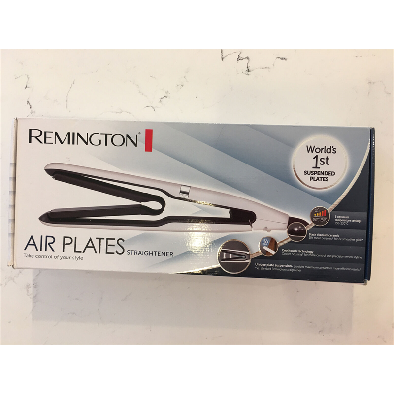 Remington Air Plates Hair Straightener - White S7412
